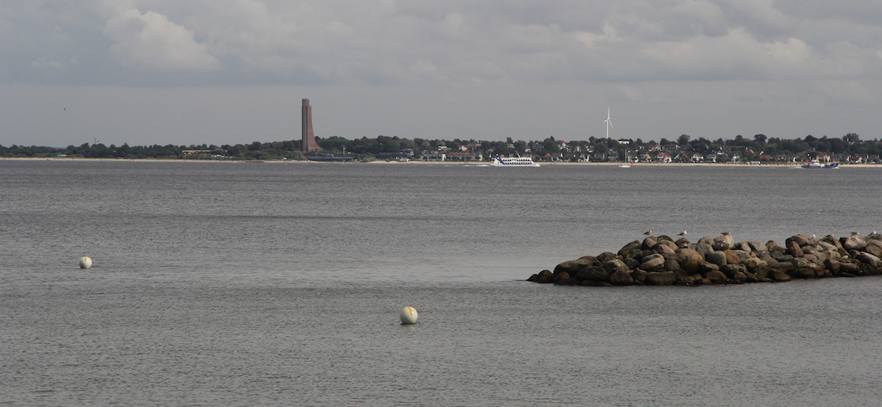 Laboe-Blick vom Appartement